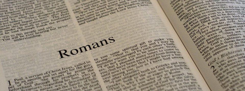 Foto da Carta aos Romanos