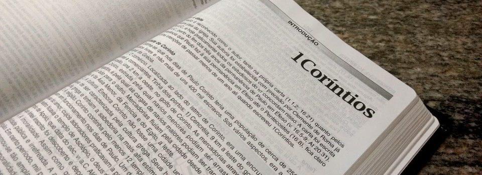 Introdução Primeira Carta aos Coríntios