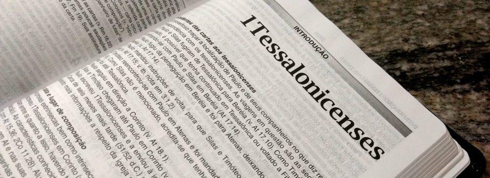 Destaque Primeira Carta aos Tessalonicenses