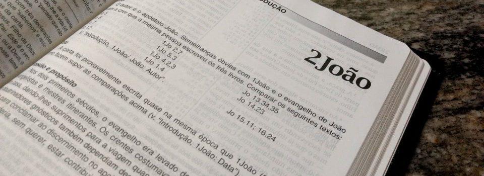 Destaque - Introdução da segunda Carta de João