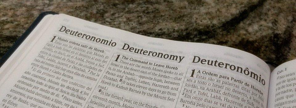 Introdução do Livro de Deuteronômio