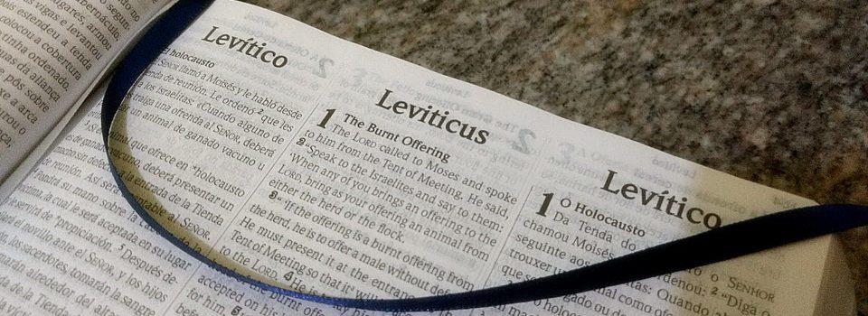 Introdução do Livro de Levítico