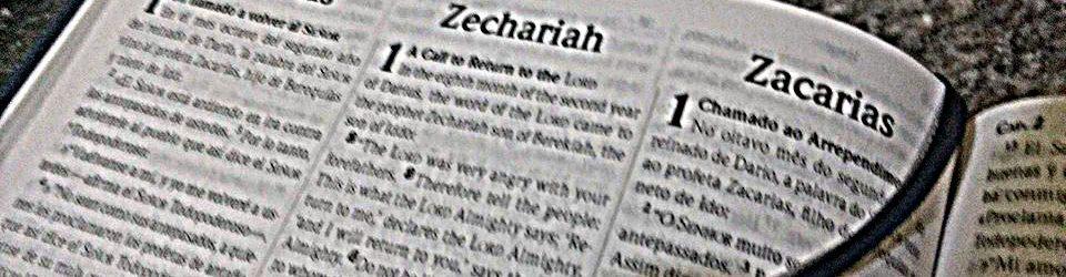 Introdução do Livro de Zacarias