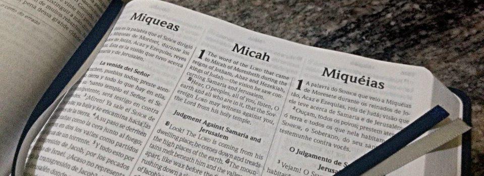 Introdução do Livro de Miqueias