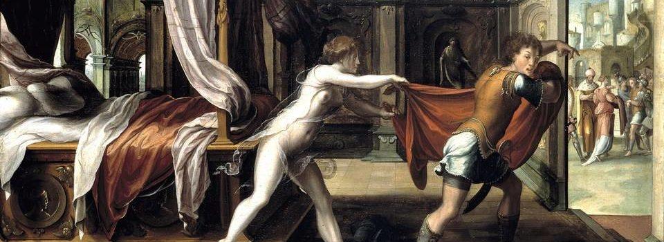 José fugindo da Mulher de Potifar